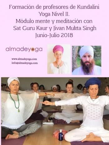 Formacion profesores kundalini yoga nivel 2